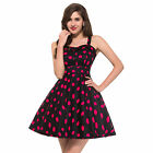 Rock & Roll VINTAGE Style Swing 50s 60s Pin up Rockabilly cocktail TEA Dress NEW