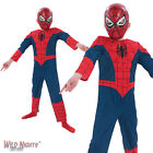 FANCY DRESS COSTUME ~ BOYS MARVEL AVENGERS PREMIUM SPIDER-MAN AGE 3-8