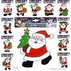 Window Stickers Santa Claus for Christmas Decoration