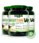 SDC ABOUT TIME VE Vegan Protein 2 lb  All Natural with ENZYMES - PICK FLAVOR