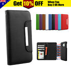 Flip Leather Magnetic WALLET Case Cover for Samsung Galaxy S7 S6 EDGE S4 S5 4G