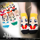 Lolita cartoon fantasy japan anime sailormoon beauty pageant ankle socks JMA6004