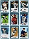 2011 Bowman Draft Picks & Prospects Blue Parallel /499 You Pick Your Player