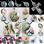 1pc Cross Mother Of Pearl MOP Abalone Shell Bead Charm Pendant Fit Necklace Gift