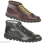 NEW GRAFTERS MENS RETRO CLASSIC ORIGINAL LEATHER LACE UP FASHION MONKEY BOOTS