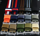 USM US Military Watch Strap Band Wrap S/S Buckle Wide Keeper 15 Colours 3 Sizes
