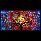 Trees Landscape Modern Custom Paintings Large Abstract Commissioned Art by Doria