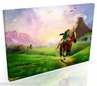 Legend of Zelda * Top Quality Box Canvas Ready to Hang * A3 A2 A1 Sizes