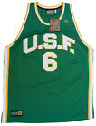 NEW! University of San Francisco Authentic Throwback Vintage Jersey Bill Russell