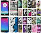 For LG Leon C40 Rubberized HARD Protector Case Snap On Phone Cover Accessory