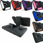 for LG Optimus L9 P769+Pry Tool Heavy Duty Hybrid Case&Belt Clip Holster Stand