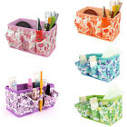 Makeup Cosmetic Storage Box Foldable Organiser Stationary Container snazzy gift
