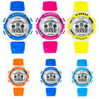 Mens Boys Waterproof Wristwatch Led Digital Quartz Alarm Date Sports Watch Cheap