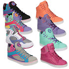 Pastry Womens Sire Colour Blocking Hi Top Trainers In Various Colours
