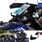 Motorcycle Fork Stem Mount + Universal One Holder for Apple iPhone 6 Plus