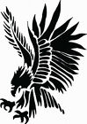 NEW TRIBAL BIRD #TAN2/330 DECAL VINYL GRAPHIC RV MOTOR HOME AUTO HOOD AUTO VAN