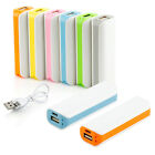 Portable External USB 2600mAh Battery Charger Power Bank For all the cell phones