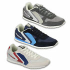 Mens Sneakers Trainers Crosshatch Shoes Lace Up Suede Running Mesh Designer New