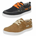Boys JC DEES boat  shoes N1090