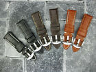 22mm BREITLING Grain Leather Strap S Short Size Tang Buckle Watch Band 22