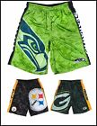 NFL Team Logo Polyester Big Logo Athletic Shorts - S-2XL - Pick Your Team! $24.95 USD on eBay