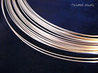 5Ft 14KY Gold-Filled Dead Soft ROUND Jewelry Wire 8 10 12 14 16 18  20 GA Gauge