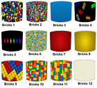 Lampshades Ideal To Match Kids Building Blocks Wallpaper & Building Blocks Toys.