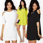 Women Casual Clubwear Party Bodycon Bandage Evening Short Mini Dresses PLUS SIZE