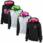 MUSCLE PHARM WOMENS FULL ZIP HOODED SWEATSHIRT - GYM FITNESS EXERCISE TRAINING