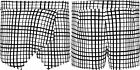 Womens Stretch Square Check Hot Pants Wrap Around Short Mini Skirt Ladies Skort