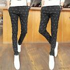 Fashion Mens Slim fit  fight Skinny Trousers Casual dress Jeans pencil Pants new