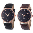 Fashion Unisex Watch Leisure Crocodile Leather Analog Quartz Wrist Watch Watches