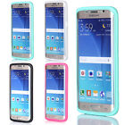 Hybrid Shockproof Rubber Hard Protective Cover Case For Samsung Galaxy S6 Edge