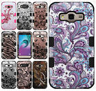 Samsung Galaxy Express Prime IMPACT TUFF HYBRID Case Skin Cover + Screen Guard