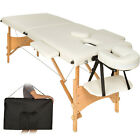 Mobile Massageliege Massagetisch Massagebank 2 Zonen klappbar + Tasche