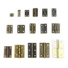 10/20/50pcs Door Butt Copper Hinge Cabinet Drawer with Screws Iron Wooden Box
