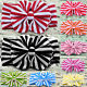 Baby Girls Kids Stripe Big Bow Hairband Headband Stretchy Turban Knot Head Wrap