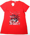 "Ringella ""it´s for you"" Damen T-Shirt V-Neck mit Elasthan navy, red,white 36-46"