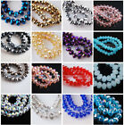 Wholesale 500pcs 3x2mm Rondelle Faceted Glass Crystal Finding Spacer Loose Beads