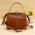 Women Leather Satchel Shoulder Messenger Ladies Bag Handbag Tote Purse Crossbody