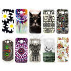 Cat Flower TPU Silicone Rubber Gel Soft Back Case Cover For Various Mobile Phone