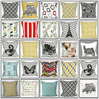 100% Cotton Cushion Cover Decorative Trendy Animal Chevron Pillow Case 18x18""