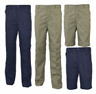 Mens Zip Off  2 in 1 Leisure Action Trousers Casual Bottoms Shorts