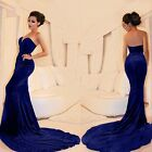 2015 Women Sexy Bodycon Prom Ball Cocktail Party Formal Evening Gown Long Dress