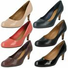 Ladies Clarks Court Shoes Style - Arista Abe