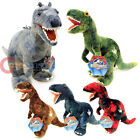 "Jurassic World Dinosaurs Plush Doll 12"" Large T Rex Soft Stuffed Toy 5 Color"