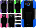 For Kyocera Hydro Wave C6740 Advanced HYBRID KICKSTAND Protector Case Cover