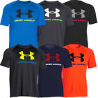 Under Armour 2015 HeatGear UA Tech Sportstyle Logo T-Shirt Mens Training Gym Tee