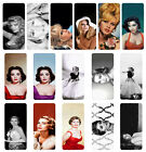 Female Icons Flip Case Cover for Samsung S3 S4 S5 S6 - 02