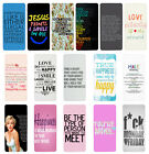 Sayings Quotes Flip Case Cover for Samsung S3 S4 S5 S6 - 35